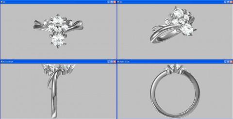 テイアラ型CAD